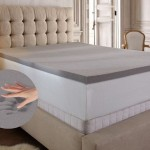 "PuraSleep Brilliance 2"" or 3"" Diamond Memory Foam Mattress Topper"