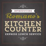 Romano's Kitchen Counter / Romano's Macaroni Grill $10 Coupon