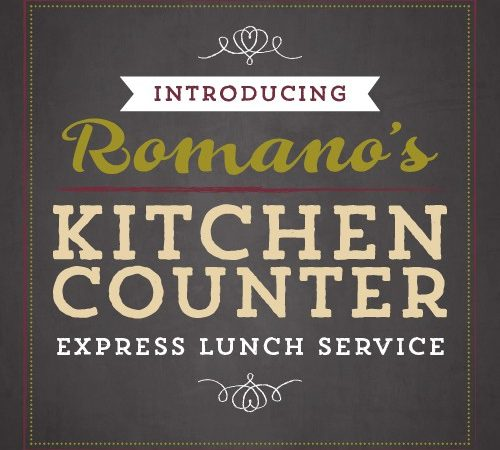Romano's Kitchen Counter