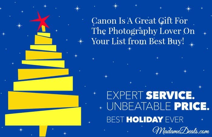 Canon Is A Great Gift For The Photography Lover On Your List from Best Buy!#CanonatBestBuy