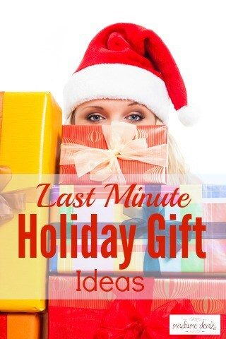 Last Minute Holiday Gifts Ideas