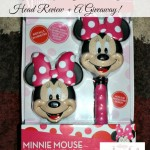 Minnie Mouse Combination Shower Head Review + A Giveaway!
