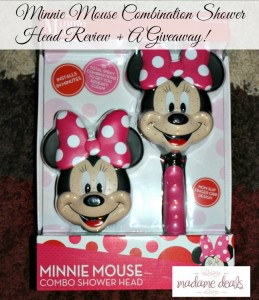 Minnie Mouse Combination Shower Head