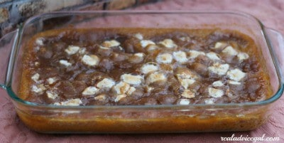butternut squash recipe made with marshmallows brown sugar weight watchers