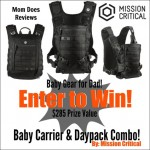 Mission Critical Baby Gear for Dad Giveaway