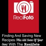 Find And Save New Recipes And Add Your Own With The Recifoto App!