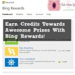 Earn Credits Towards Awesome Prizes With Bing Rewards