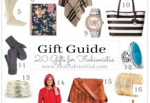 Holiday Gift Guide for Women Fashionistas
