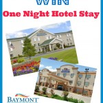 Win One Night Stay at Baymont Inn & Suites or at any Wyndham Hotel Group
