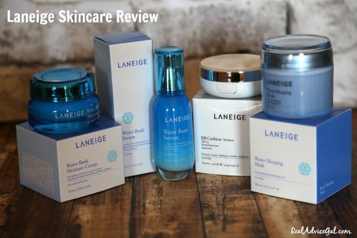 Laneige Skincare Review - Real Advice Gal