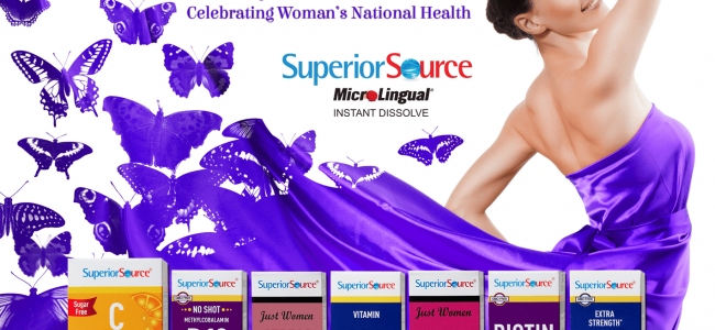 Be Healthy Be Beautiful with Superior Source Vitamins