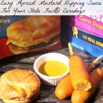 Easy Apricot Mustard Dipping Sauce For Your State Fair® Corndogs