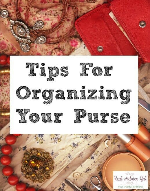 Tips For Organizing Your Purse
