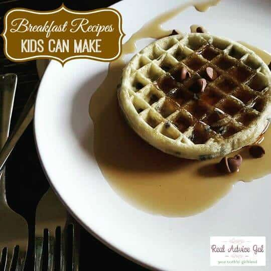 If you have time for a little make-ahead prep, baked oatmeal squares are a great substitute for instant oatmeal and are perfect for mornings your child may need to eat his breakfast on the run. Make and cut a batch using your own healthy recipe, or try this one, and store in an air-tight container for easy grabbing.