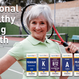 Superior Source Vitamins - National Healthy Aging Month