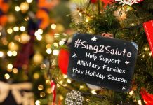 Sing to Salute Military Families this Holiday Season