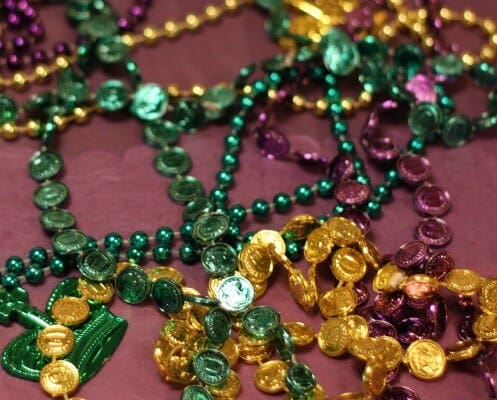 mardis gras beads colors