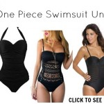 Black One Piece Swimwear Under $20