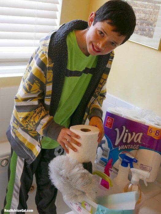 cleaning with viva vantage