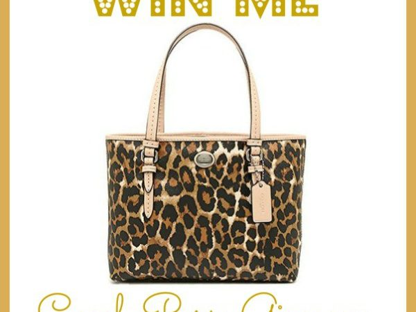 Win a Coach Tote! Join our Coach Purse Giveaway