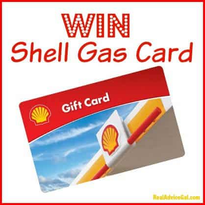 Shell Gas Card Giveaway