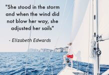 Karla's Korner: Adjust Your Sails