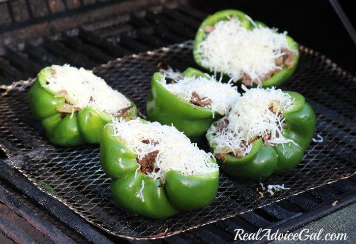 how to cook stuffed banana peppers on the grill