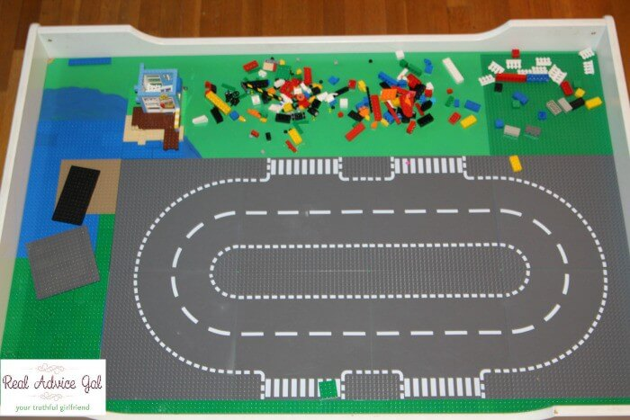 Lego table project finished