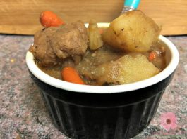 Hearty Beef Stew Instant Pot Pressure Cooker Recipe