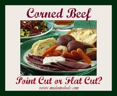 Corned Beef: Point Cut or Flat Cut?