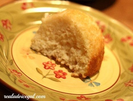 slice of pineapple angel food cake