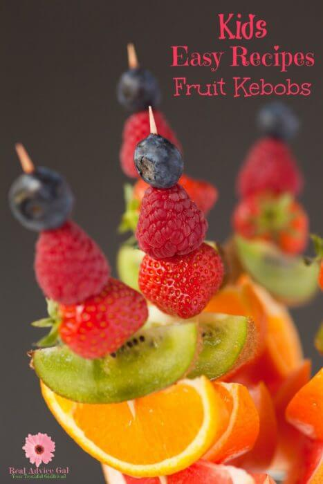 kids easy recipes fruit kebobs