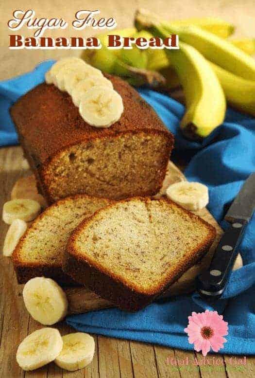 Sugar Free Banana Bread Recipe