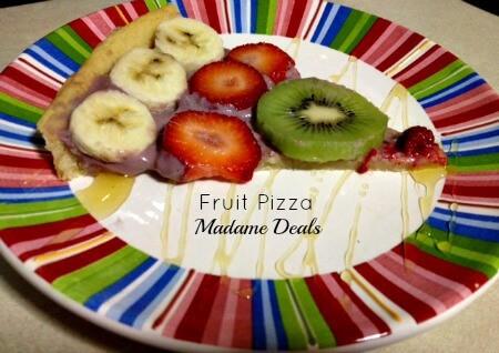 Fun Fruit Recipes for Kids: Fruit Pizza!