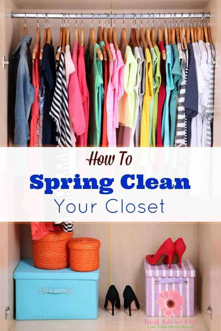 How To Spring Clean Your Closet Madame Deals