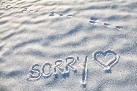 Karla's Korner: Apologies, Forgiveness and Moving On