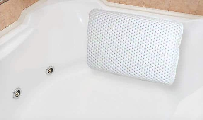 bath tub pillow
