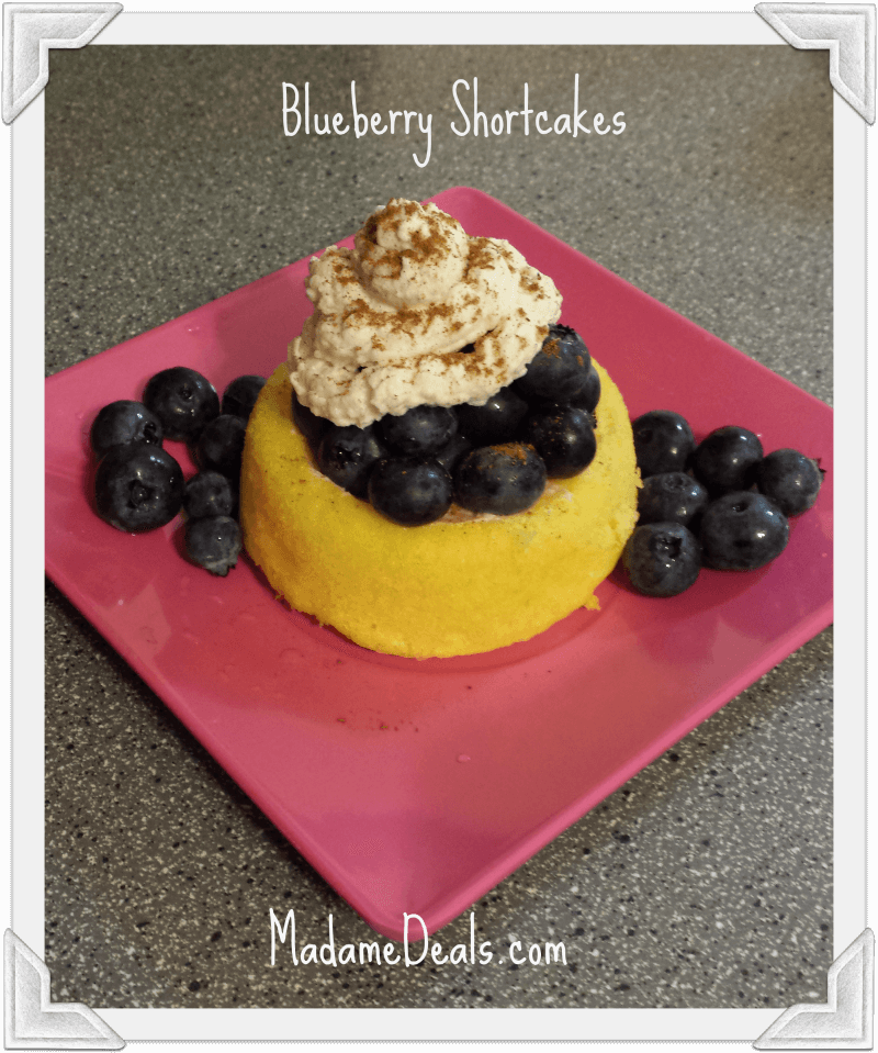 Fun Kids Dessert Recipes: Blueberry Shortcakes