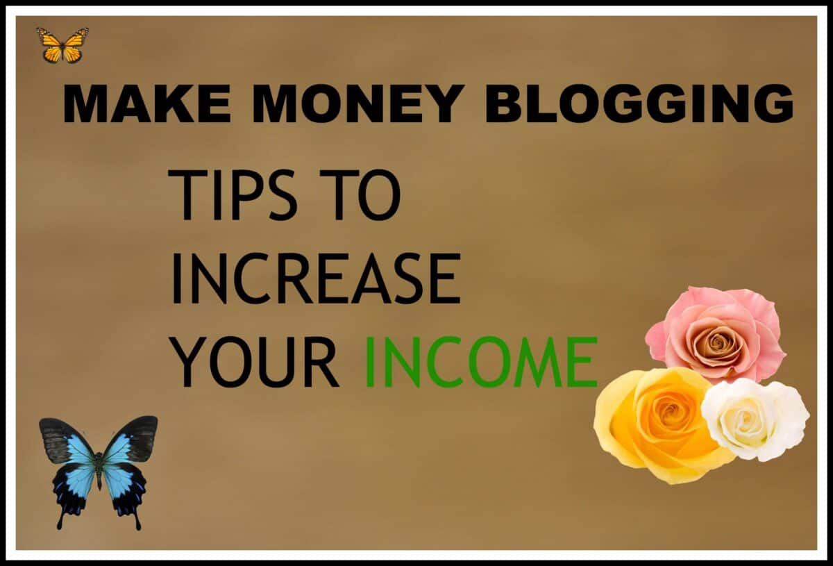 how to make money from blogging australia
