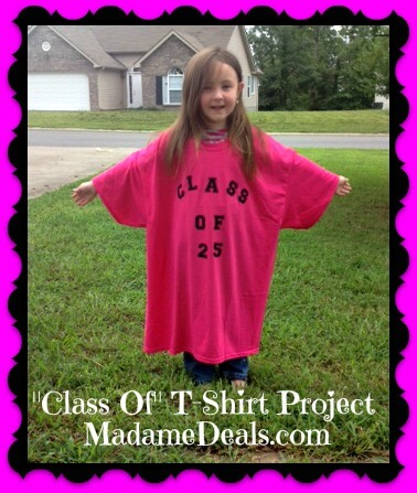 """Class Of"" T-shirt project"