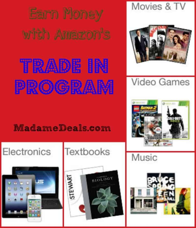 Earn Money with the Amazon Trade In Program