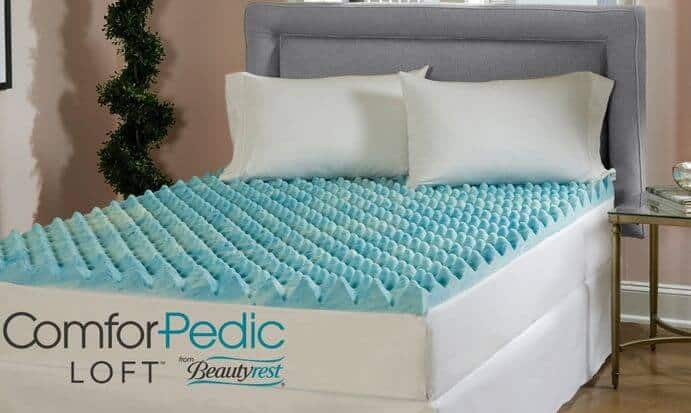 queen reviews mattress review serta simple sleep gel rest memory foam topper is