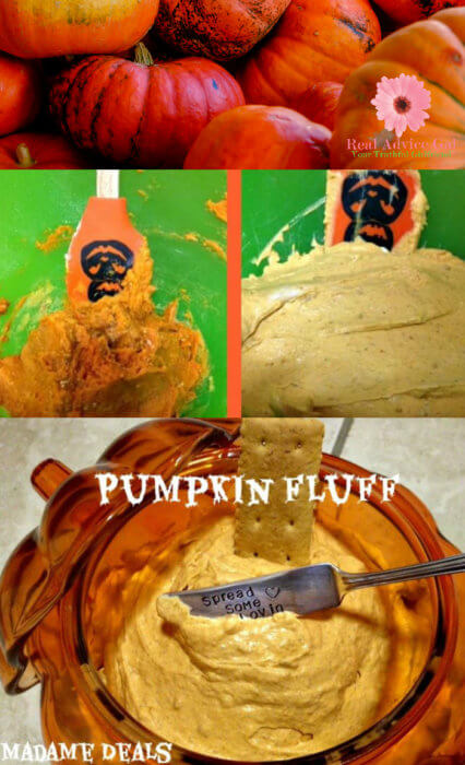 Here is how to make yummy Kids Halloween Recipes: Pumpkin Fluff