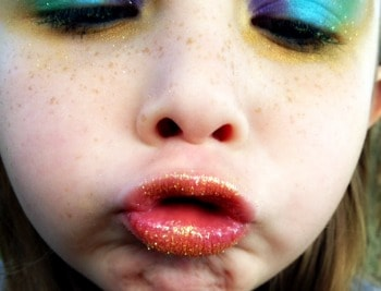 easy halloween makeup for kids peacock edition  real