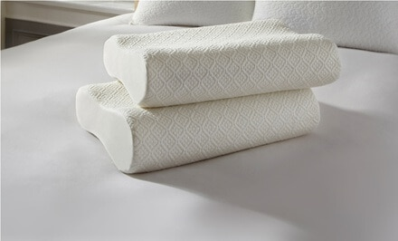 Set of 2 Ideal Comfort Adjustable Memory-Foam Pillows Only $39.99 Shipped