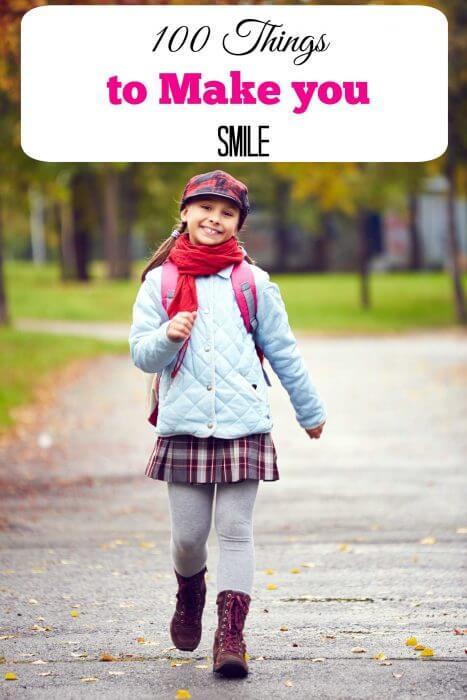 100 things to make you smile