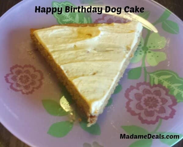 Healthy and Delicious Dog Cake
