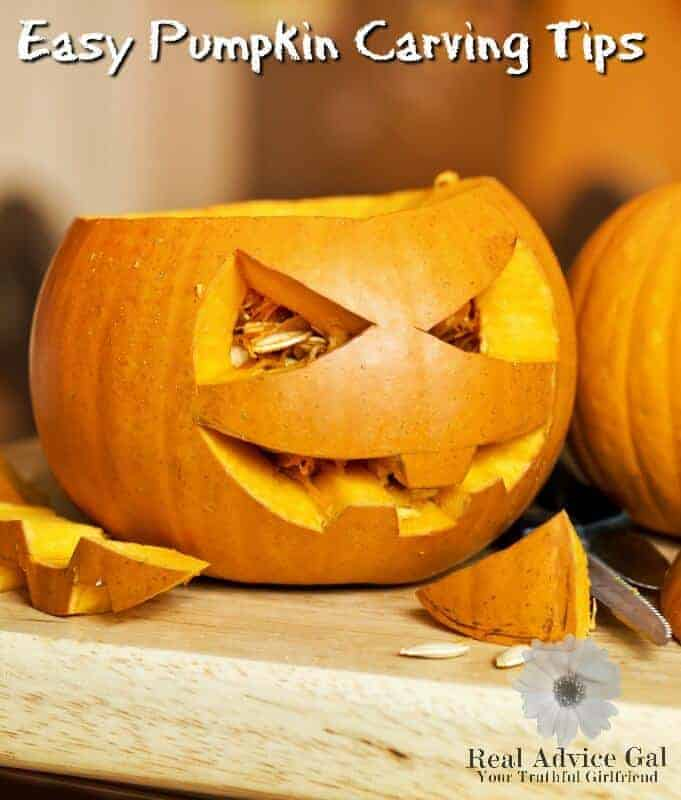 Easy Pumpkin Carving Tips