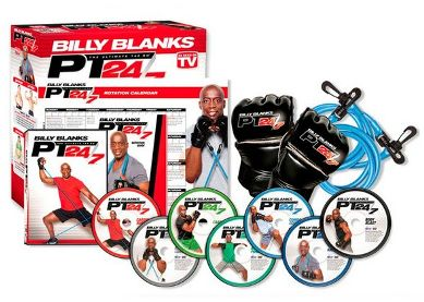 Billy Blanks PT 24/7 7-DVD Set with B2 Bands and Gloves $28.99 Shipped!