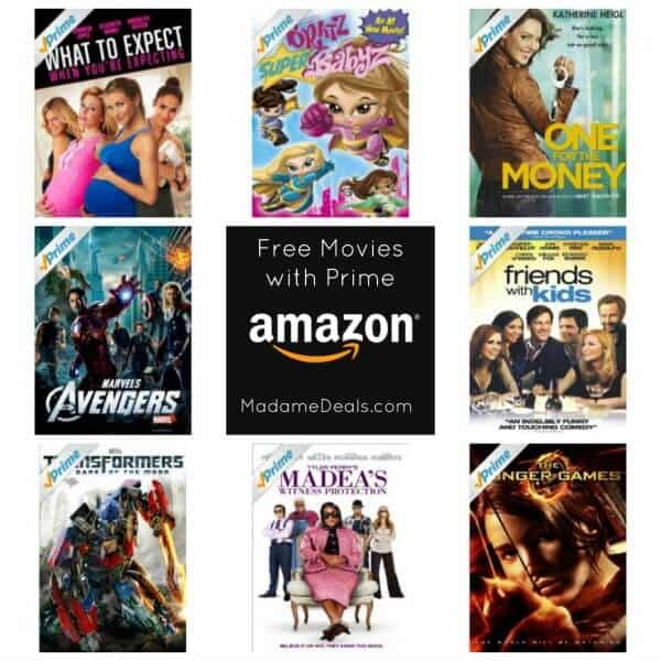 Do you get free movies on amazon prime